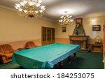 billiard room classicism... | Shutterstock . vector #184253075