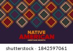 native american heritage month... | Shutterstock .eps vector #1842597061