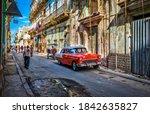 Havana  Cuba  July 2019  Urban...