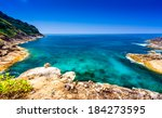 view point at tachai island at... | Shutterstock . vector #184273595