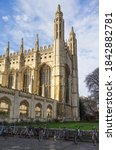 King's College Chapel On A...