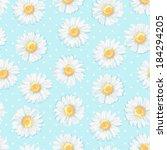 beautiful  summer background... | Shutterstock .eps vector #184294205