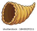 Hollow Cornucopia Or Horn Of...