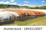 Hot Springs At The Geyser Basin ...