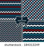seamless geometric pattern | Shutterstock .eps vector #184313249