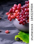 Red Sultana Grapes In The...
