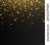 shine. light effect  golden... | Shutterstock .eps vector #1843329484