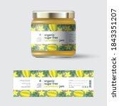 star fruit  carambola  jam... | Shutterstock .eps vector #1843351207