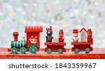 Santa Claus Red Wooden Toy...