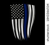 vector illustration thin blue... | Shutterstock .eps vector #1843366534