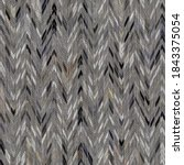 ikat charcoal grey french linen ... | Shutterstock . vector #1843375054