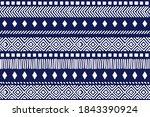tribal pattern. ethnic... | Shutterstock .eps vector #1843390924