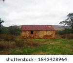 Old Deteriorating Building With ...
