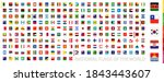 square national flags...   Shutterstock .eps vector #1843443607