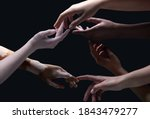 Open Hearts. Hands Of Different ...