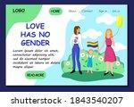love has no gender. lgbt...
