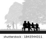 outdoor recreation  people...   Shutterstock . vector #1843544311