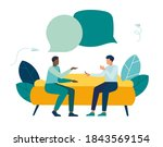 vector illustration  workers... | Shutterstock .eps vector #1843569154