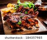 Delicious Barbecued Ribs...