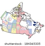 newfounland and labrador on...   Shutterstock . vector #184365335