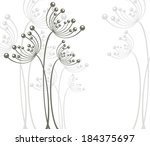 flower background | Shutterstock .eps vector #184375697