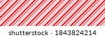 candy cane christmas background ... | Shutterstock .eps vector #1843824214