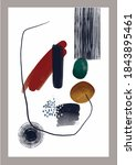 vector abstraction. painting.... | Shutterstock .eps vector #1843895461