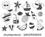 summer label vector logo for... | Shutterstock .eps vector #1843904044