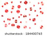 candy heats background | Shutterstock . vector #184400765
