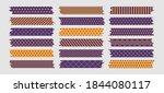 halloween washi tapes set ... | Shutterstock .eps vector #1844080117
