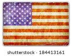 a grunge card  paper background ... | Shutterstock . vector #184413161