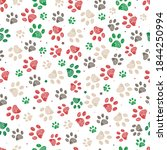 Trace Doodle Paw Prints With...
