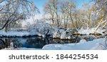 Frosty Winter Panoramic Scene...