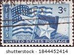 Usa   Circa 1945  A Postage...