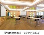 modern wooden teaching lesson...   Shutterstock . vector #184448819