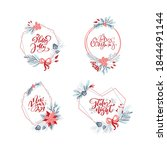 vector set collection of hand...   Shutterstock .eps vector #1844491144