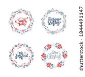 vector set collection of hand...   Shutterstock .eps vector #1844491147
