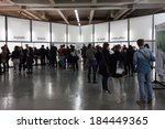 milan  italy   march 28  people ... | Shutterstock . vector #184449365