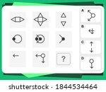 practice questions worksheet... | Shutterstock .eps vector #1844534464