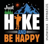 hiking quotes and 100  vector...   Shutterstock .eps vector #1844663131