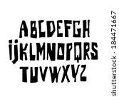 black type.   Shutterstock .eps vector #184471667
