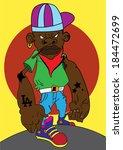 urban african american hip hop...   Shutterstock .eps vector #184472699
