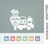 wrecker parking area | Shutterstock .eps vector #184477985