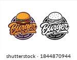 burger daily fresh vector... | Shutterstock .eps vector #1844870944