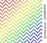 seamless wavy pixel pattern