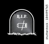 gravestone  rest in peace  dead ...   Shutterstock .eps vector #184499765