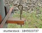 Long Iron Brown Bolt Pin In A...