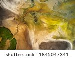 Dry Lake Or Swamp In The...