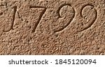 """""""1799"""" Carved In Stone   A..."""