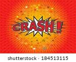 crash    commic speech bubbel ...